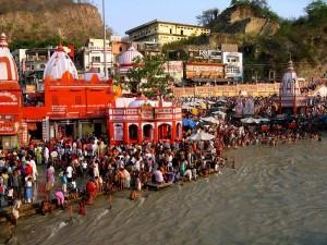 Ganga at Haridwar
