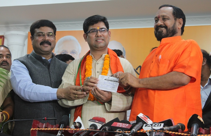 BJP Joining S S Singh (7)