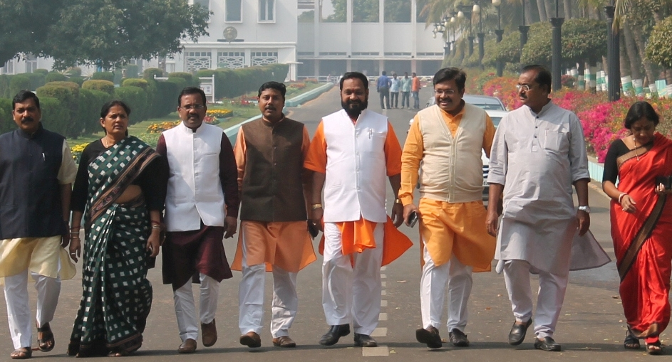BJP team meets the governor